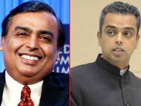 Milind Deora is the man For South Mumbai Said Mukesh Ambani and Uday kotak Supporting Milind in a Video