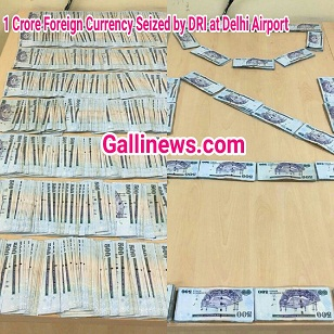 1 Crore Foreign Currency Seized at IGI Airport Delhi