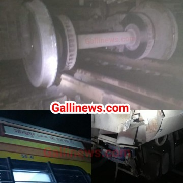 12598 CSMT Gorakhpur Antyodaya Express derailed between Kasara and Igatpuri Ghat