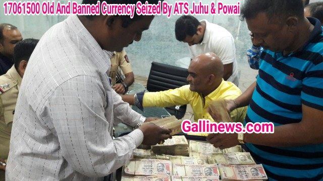 Rs 17061500  Old Indian Currency notes of Rs 500 and Rs 1000 Denominations note ATS juhu Unite Team & Powai P.S Team