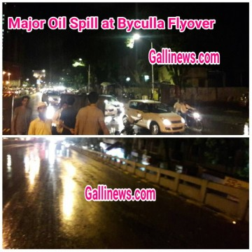 Oil Sill at Byculla Flyover