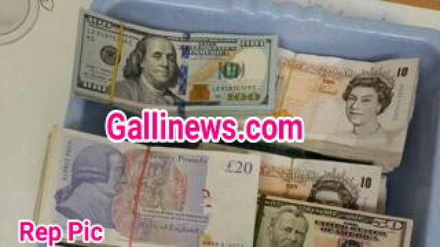 Foreign Currency and Old Banned  banned demonetised notes seized by AIU worth lakhs