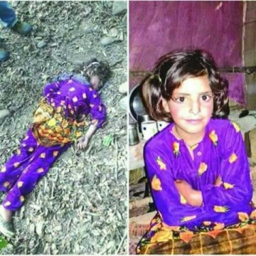 8yrs Old Girl Asifa Bano  Kidnapped Drugged Raped And Beaten to Death in a Temple in  Katau District in Jammu and Kashmir in January