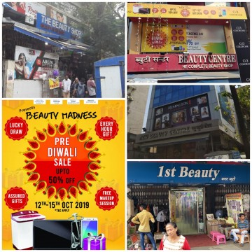 Pre Diwali Sale Upto 50 percent off on Beauty Products by Beauty Centre Groups in all 4 Mumbai Branches