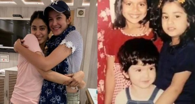Janhvi Kapoors wish for cousin Shanaya Kapoor on her birthday is all about sweet memories