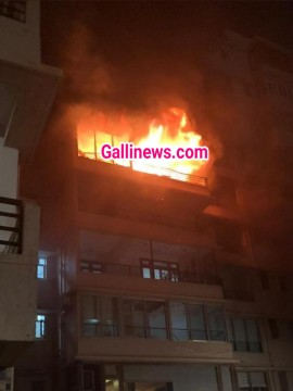 Huge Fire at Building in Malabar Hill