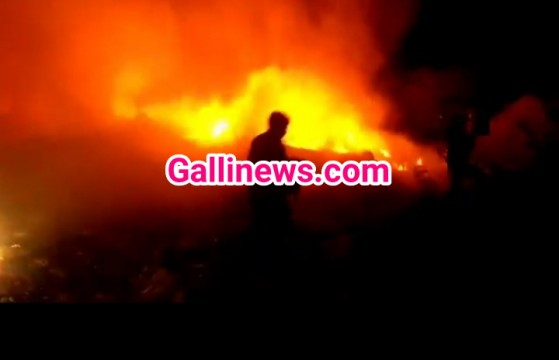 Huge Fire in Dumping Ground at Bhiwandi