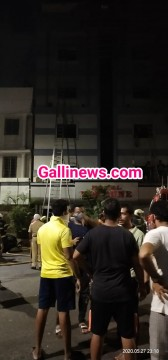 Fire in Fortune Hotel at Metro theatre Mumbai