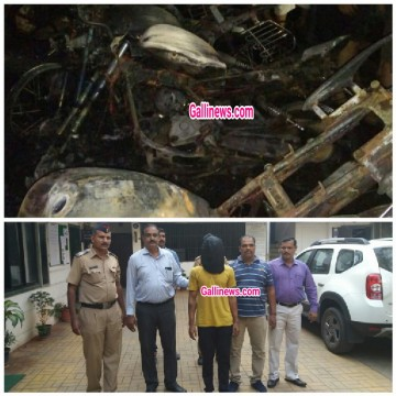 18 Motorcycle bikes jalane Wala Arrest at Thane