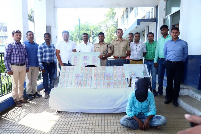 200 & 2000 ke Duplicate Note Banane Wale Gang ka 1 Person Arrested Yawatmal