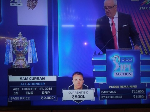 IPL Auction 2019 In Jaipur