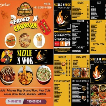 20 Percent Discount from 24 Feb to 5th March 2021 to Gallinews Viewer from Sizzle N Wok at JJ Junction
