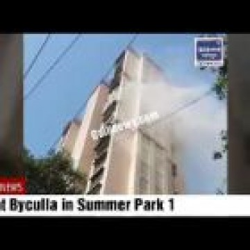 Fire in Mazgaon Sumer Park Residency