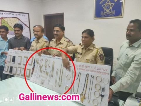 36 Tola Gold jewellery ghar se churanae wali Housemade ko Naupada police ne kiya arrest at Thane