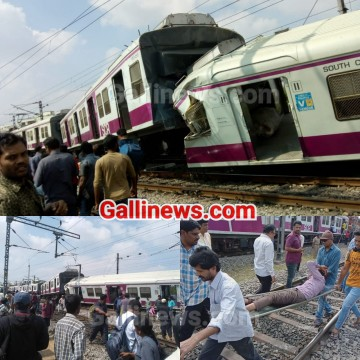 2 Train Takrai aamne saamne at Kacheguda Railway Station Telangana 10 Injured No Casualties yet reported