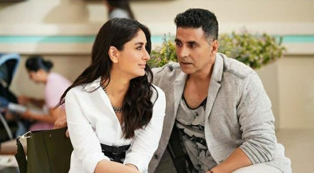 AkshayKumar and KareenaKapoor Khan look stunning in this still from Good Newz