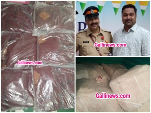 300 kg Duplicate Jaafran Saffron Seized By Dongri Police and FDA from Dongri Market