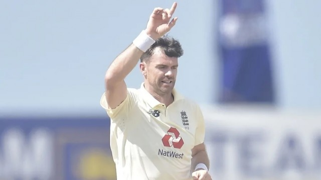30th Five Consequence Wicket haul for James Anderson in Tests Against Shri Lanka