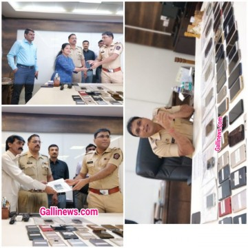 351 Mobile Seized Value Rs 3798750 by thane police