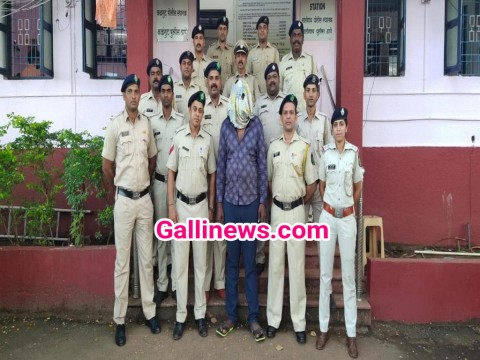 3 Crore ki Drugs ke sath 1 Nigerian arrested by Calangute Police at Goa