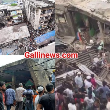 3 Manzila Building Collapse 10 dead NDRF ka searching operation jaari at Bhiwandi