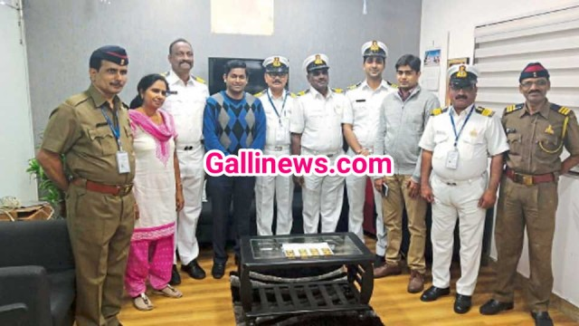 4kg illeagle gold hidden in washbasin of flight seized at Pune airport