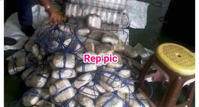6 kg Heroin Worth Rs 24 crore seized in Delhi . 2 Drug Peddlar Arrested