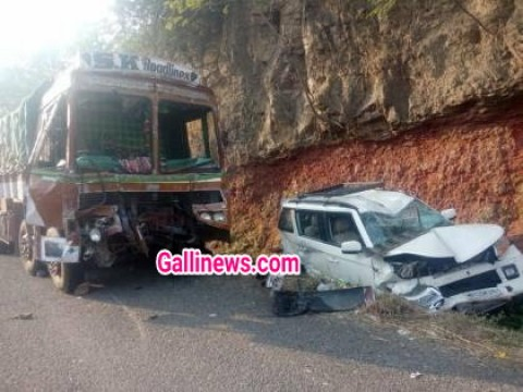 8 Vehichle ki aapas mai takkar Major accident at Pune Satara Highway near Katraj