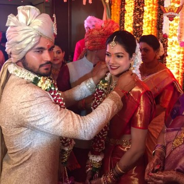 Middle-order batsman Manish Pandey got married
