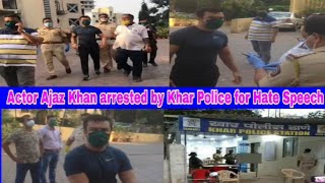 Actor Ajaz Khan arrested by Khar Police for Hate Speech