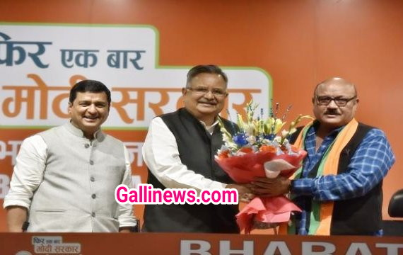Actor Arun Bakshi ne kiya BJP Join in the presence of Former CM Raman Singh at Delhi