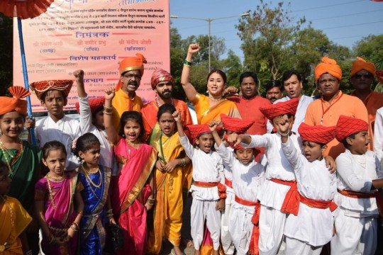 Actor Urmila Matondkar Gudi Padwa Celebrations in Mumbai