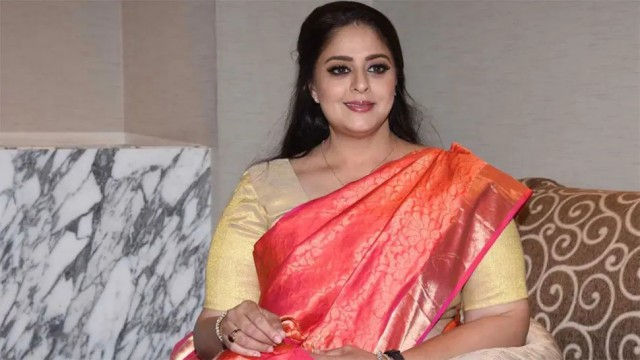 Actress Nagma Tested positive Covid19 days after taking First dose Of Vaccine