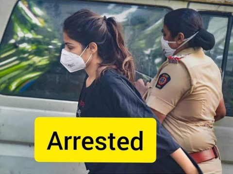 Actress Rhea Chakraborty Arrested by NCB in Mumbai