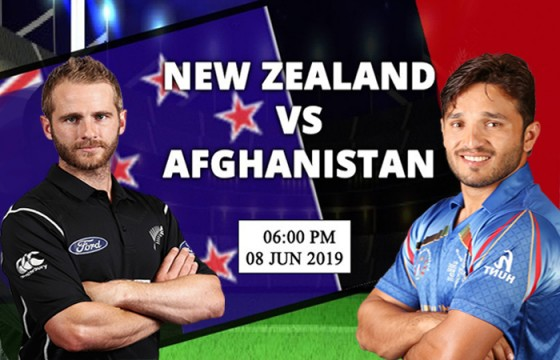 New Zealand won the match by 7 wicket against Afghanistan