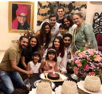 Aishwarya Rai 45th Birthday Celebration in Goa