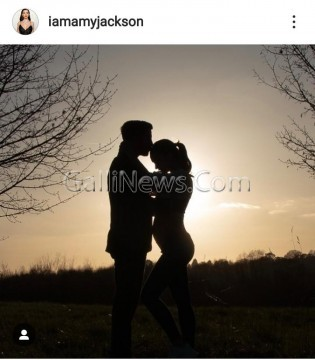 Amy Jackson Announces Pregnancy with adorable Post for husband