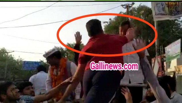 Arvind Kejriwal Slapped During Road Show in Delhi