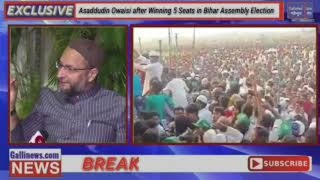 Asaddudin Owaisi after Winning 5 Seats in Bihar Assembly Election