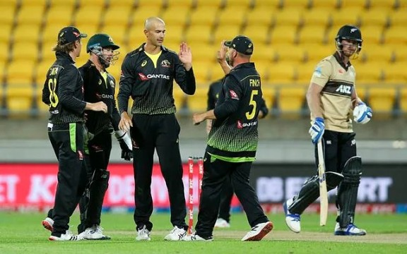 Australia Win Fourth T20 Against New Zealand In 50 Runs Wellington Regional Stadium