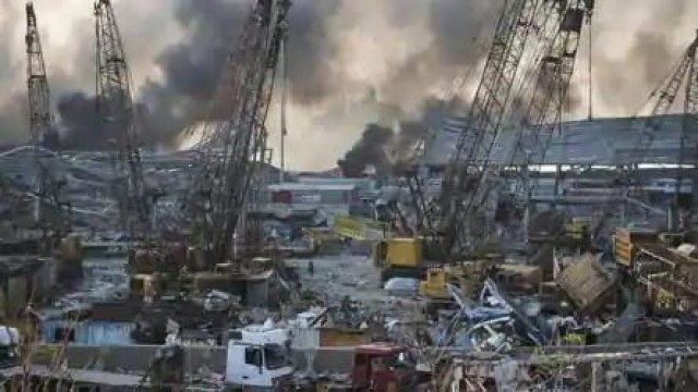 Beirut Explosion Update 100 Killed and 4000 people injured