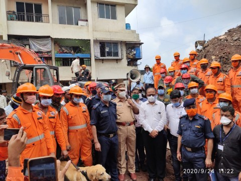 Bhiwandi Building Collapse Rescue Operation Called off 41 bodies recovered