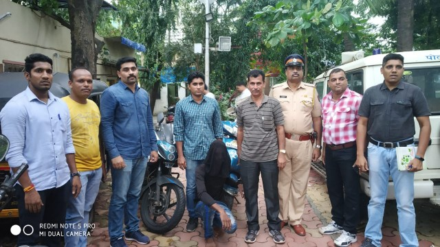 Bike chor arrested by Deonar police 2 bike recover