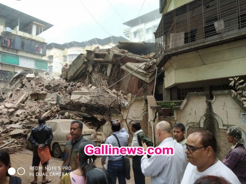 Building Collapse at Ulhasnagar Day After Residents Evacuated