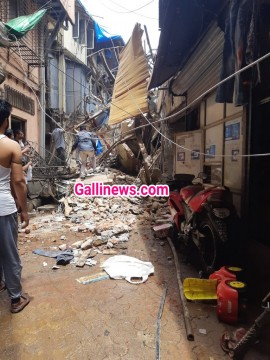 Building Collapsed at Dongri