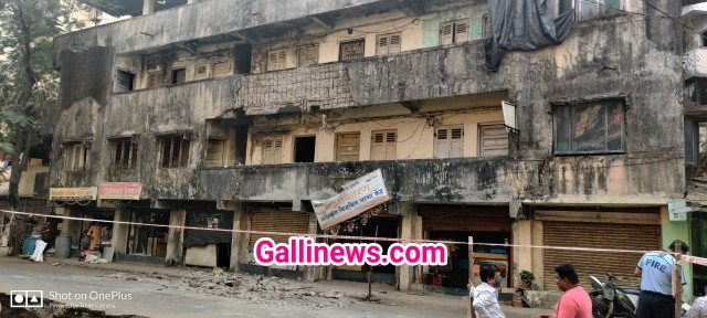 Building Slab Collapsed in Dombivali Part of Bldg Slab collpased