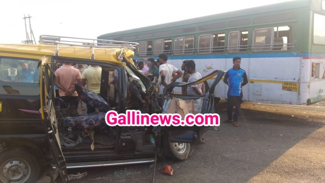 Bus aur Taxi ki Zordar Takkar on Goa Highway 6 dead