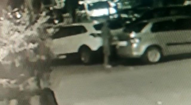 CCTV footage of Car theft in Sector 21 Hotel Tawa building Kharghar cctv Footage