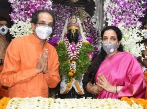 CM Uddhav Thackeray Perform Mahapooja at Lord Vitthal Temple