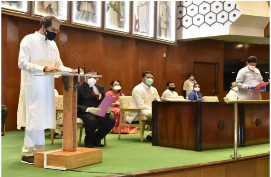 CM Uddhav Thackeray Takes Oath as MLC in Vidhan Sabha